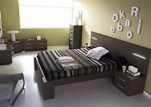 Tete De Lit Chevet : acheter votre lit 160 avec t te de lit led et chevet chez simeuble ~ Teatrodelosmanantiales.com Idées de Décoration