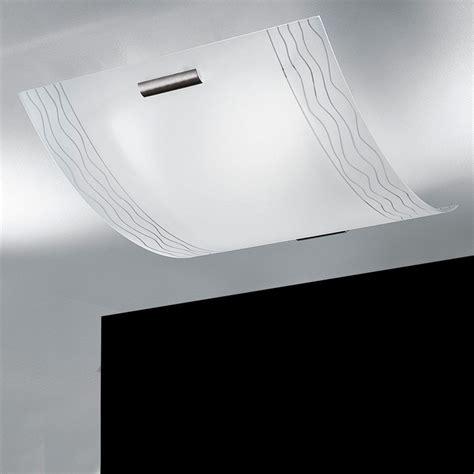Illuminazione Plafoniere Lada Plafoniera Vetro Moderno Kloe Di Antea Luce