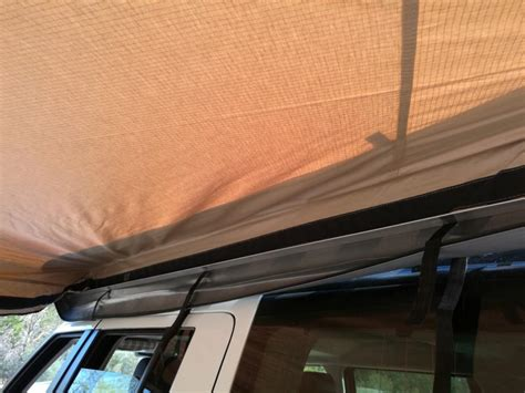2.5m Midge Mesh Skywing With Annex Batwing Awning Camper