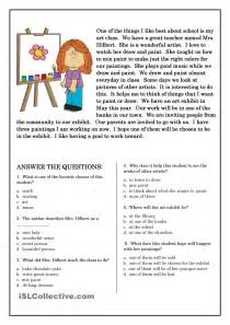 reading and comprehension worksheets поиск в school - Reading And Comprehension