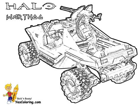 halo warthog drawing hardy halo reach coloring printables free halo reach