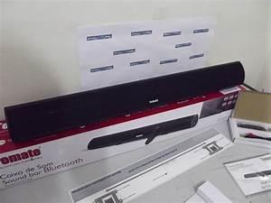 Caixa Som Sound Bar P   Tv C   Bluetooth 120w Tomate