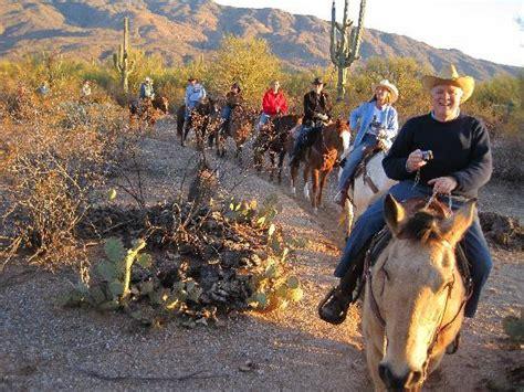 riding horseback tucson sunset houston ride arizona tripadvisor saguaros past go