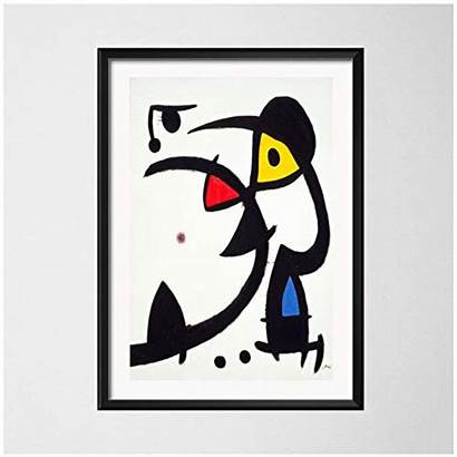 Miro Joan Cuadros Cuadro Abstractos Lienzo Artisticas