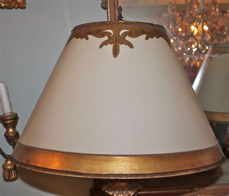 hand painted l shades carved italian painted parcel gilt ls with shades