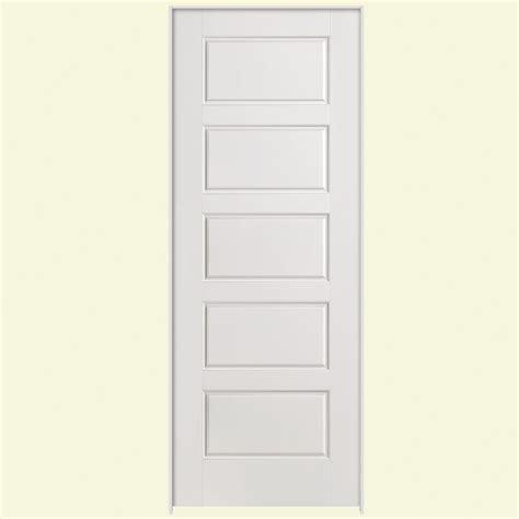 home depot prehung interior doors masonite 30 in x 80 in solidoor riverside smooth 5 panel