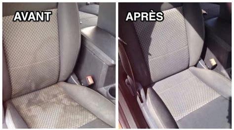 lavage siege auto tissu comment nettoyer facilement vos sièges de voiture