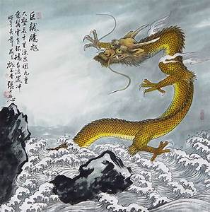 ancient japanese dragon painting - Google Search | japán ...