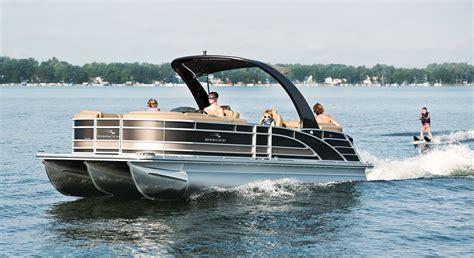 Fishing Pontoon Boat Reviews by Pontoon Boat Reviews Bennington 2550rsra Luxury Pontoon