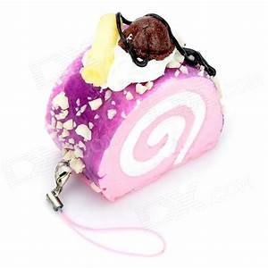 Stimulate Blueberry Cake Style Cell Phone Pedant w/ Strap ...
