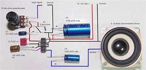 2 5watt Amplifier Wiring Diagram