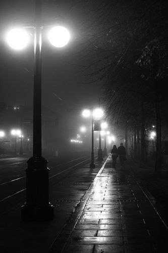 love  fog  black white film noir quality