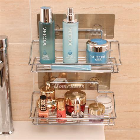 Small Bathroom Shelf by Designer Small Bathroom Shelf Suction Cup Metal Abs