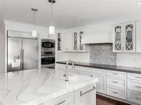 gorgeous countertops  modern kitchens friel lumber