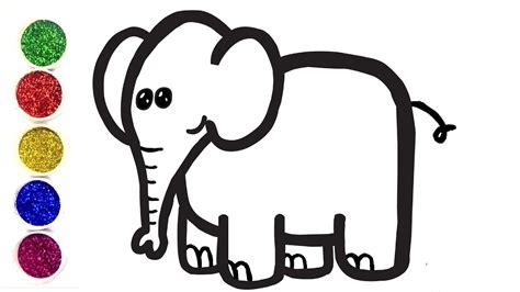 Comment Dessiner Un éléphant Pour Bébé
