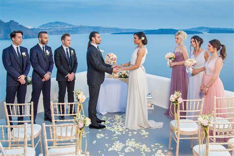 Santorini Weddings, Packages Venues