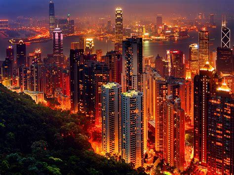 hongkong city  night high quality wallpaper wdjaz wallpaperscom