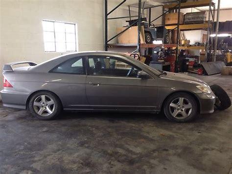 Buy Used 2004 Honda Civic Ex Coupe 2-door 1.7l In