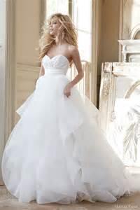 tulle skirt wedding dress hayley fall 2013 wedding dresses wedding inspirasi page 2