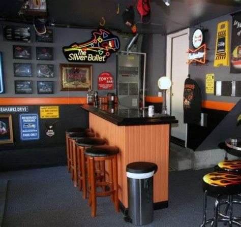 Home Bar Colors by Awesome Cave Bar Harley Davidson Inspired Paint Colors