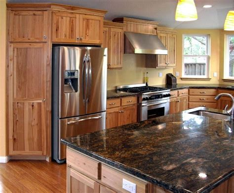 Hickory Kitchen Cabinets Wholesale by 25 Best Ideas About Rustic Hickory Cabinets On