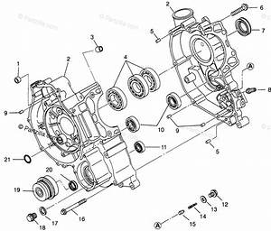 Polaris Atv 1996 Oem Parts Diagram For Crankcase Sportsman