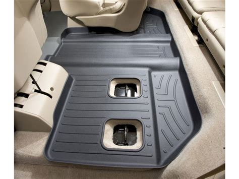 weathertech floor mats escalade weathertech floorliner cadillac escalade esv bucket seats 2007 2010 black ebay