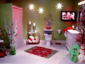 Decoración de Baños de Navidad