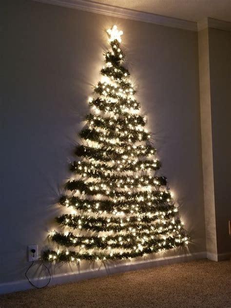 arboles navidenos de pared  departamentos pequenos