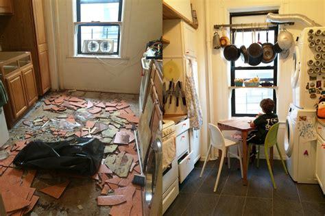 spent   renovate  kitchen   nyc rental