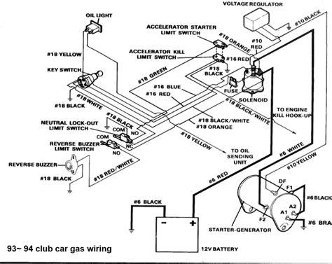 Wiring Diagram Club Car Golf Cart Volt Electrical