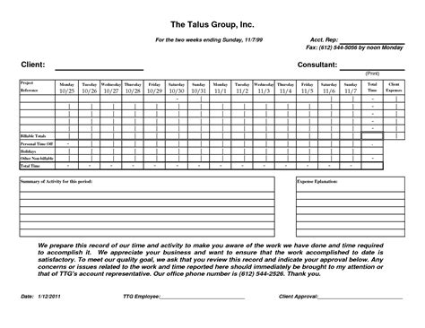 47 construction time sheets template best photos of bi