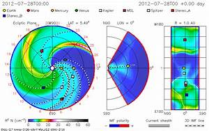 CME could impact Messenger, Spitzer, Earth, MSL, and Mars ...