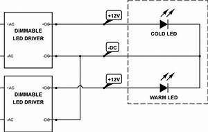 Led Strip - Can I Connect The Negative Terminals Together On Two Led Drivers