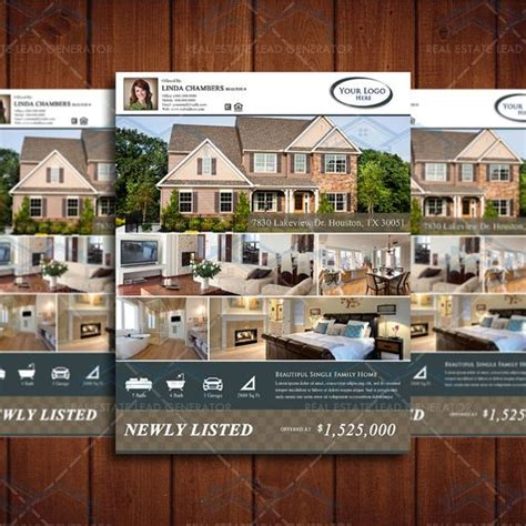 8 5x11 Brochure Template 8 5x11 Property Listing Brochure Template Looking For At