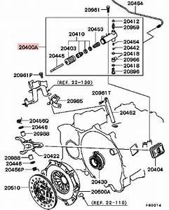 Oem Clutch Slave Cylinder  U2013 Mitsubishi Lancer Evolution 4