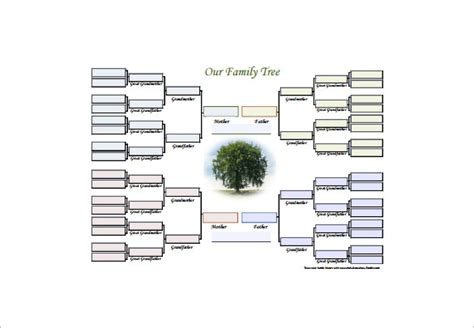 Family Tree Diagram Template  15+ Free Word , Excel, Pdf