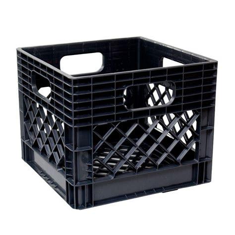 home depot garage gsc technologies 11 in x 13 in x 13 in black crate