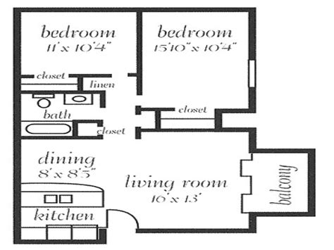 two bedroom floor plans house sq 10 2 bedroom 800 sq ft house plans 800 sq ft floor