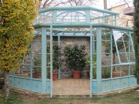 verande in ferro battuto orangerie garden house lazzerini