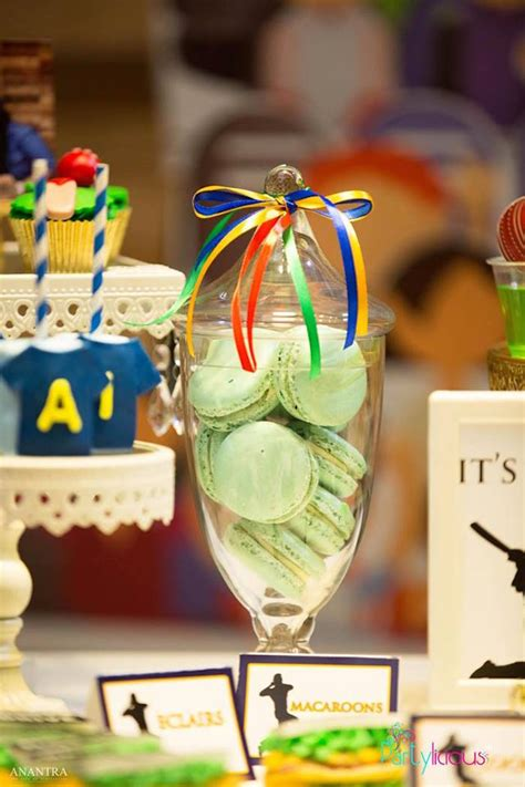 karas party ideas sporty cricket themed birthday party