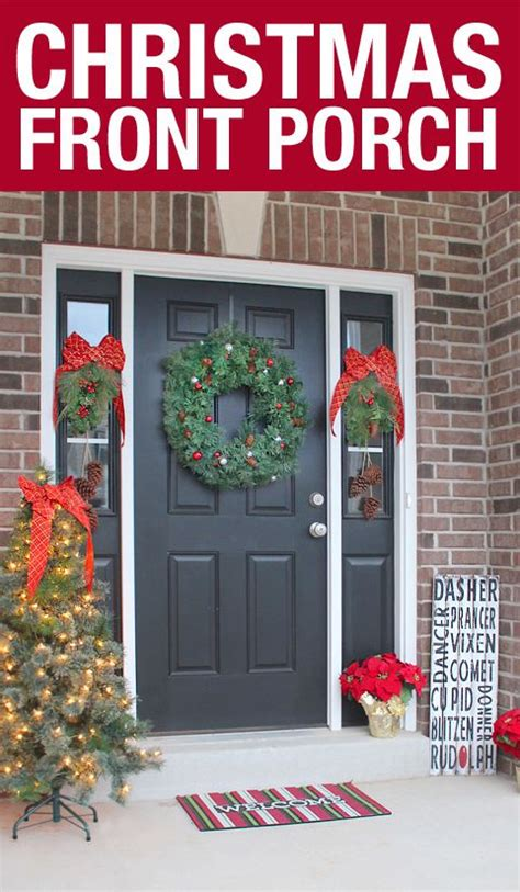 ace hardware outdoor christmas decorations front porch 2015 nest for less holidays porch front porch