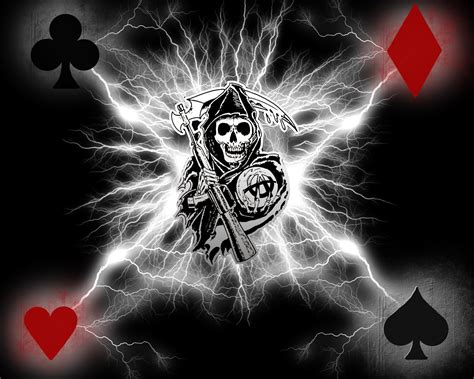 Sons Of Anarchy Logo Wallpapers Free Download Pixelstalknet