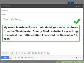 4 ways to write a formal email wikihow