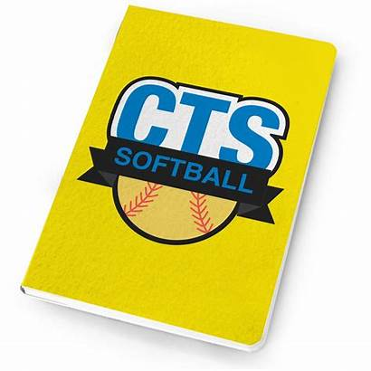 Notebook Team Baseball Logos Softball Chalktalksports