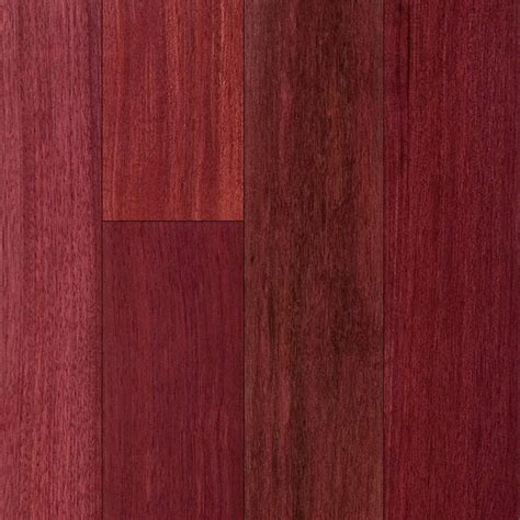 purpleheart flooring product reviews and ratings purple heart 3 4 quot x 5
