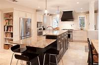 kitchen with island 30 Attractive Kitchen Island Designs For Remodeling Your Kitchen