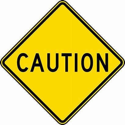 Caution Sign Signs Traffic Yellow Road Safetysign