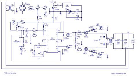 Pwm Inverter Circuit Based Input