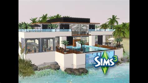 Sims 3  Haus Bauen  Let's Build  Modernes Haus Im